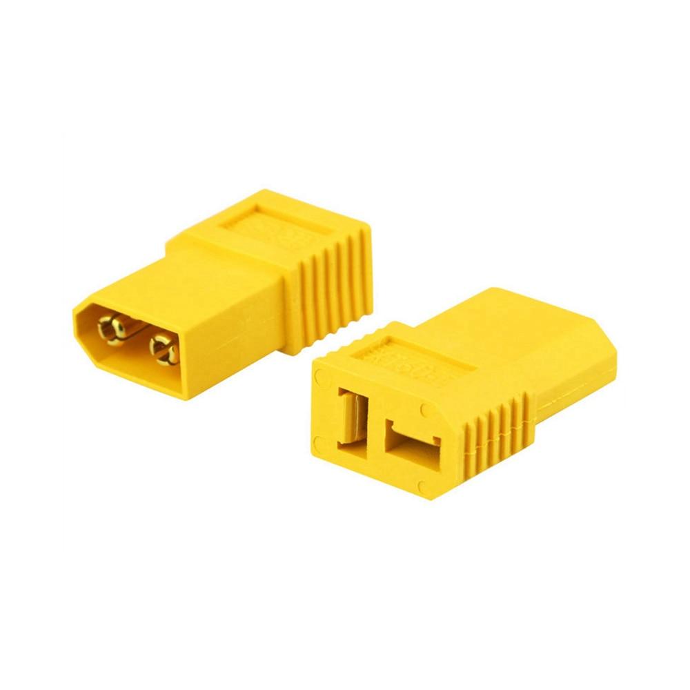Amass XT60-D XT60 Male To T Plug Female Connector Converter Adapter