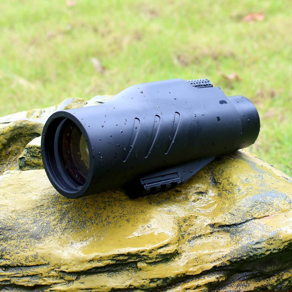 SVBONY 10x50 Monocular BAK4 Prism  Waterproof Broadband Multi coated Telescope for Hunting Camping Hiking w/ Hand Strap F9317-in Monocular/Binoculars from Sports & Entertainment    1