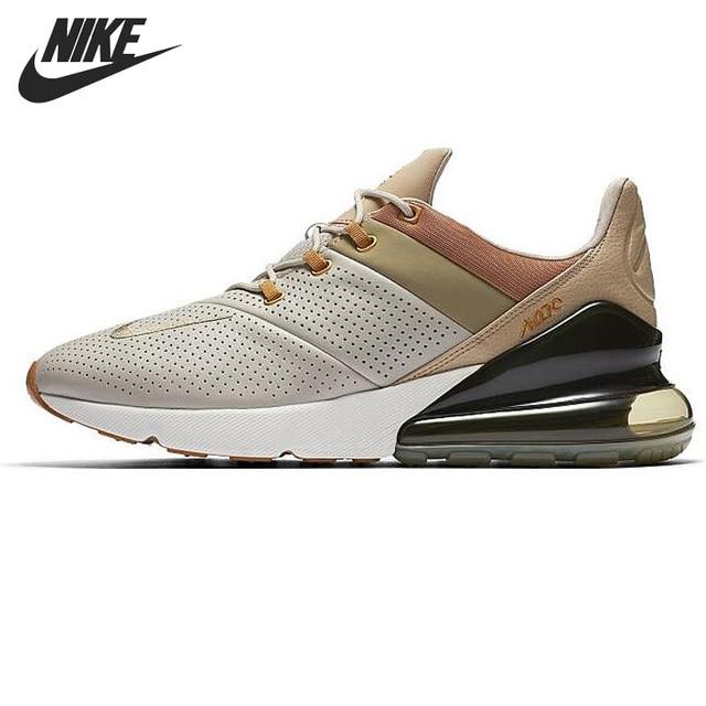 0ad6762b2 € 233.7 |Original Nouvelle Arrivée 2018 NIKE Air Max 270 Premium Hommes de  Chaussures de Course Sneakers dans Chaussures de course de Sports et ...