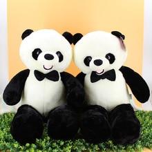 Hi-Q Cute 50/60/80CM Baby Toys Big Giant Panda Bear Pillow Plush Dolls Stuffed Toys Stuffed Plush Animals Kawaii Bear Gift Girl