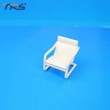 Teraysun Architectural Scenery model chair 1/30 ABS plastic Chair  Miniature Scale Model Chair 50pcs for model building toy kits