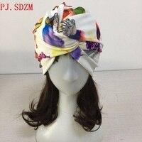 100% Hand Made Unikalne Sprzedaż Kobiety Feather Wzór Elastan Jedwabiu Turban Podwójnego Przeznaczenia Pionowy Przekrój Hairbands Opaski FG0064