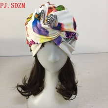 100% Hand Made Unique Sale Women Feather Pattern Headbands Spandex Silk Turban Dual Purpose Vertical Cross Hairbands FG0064