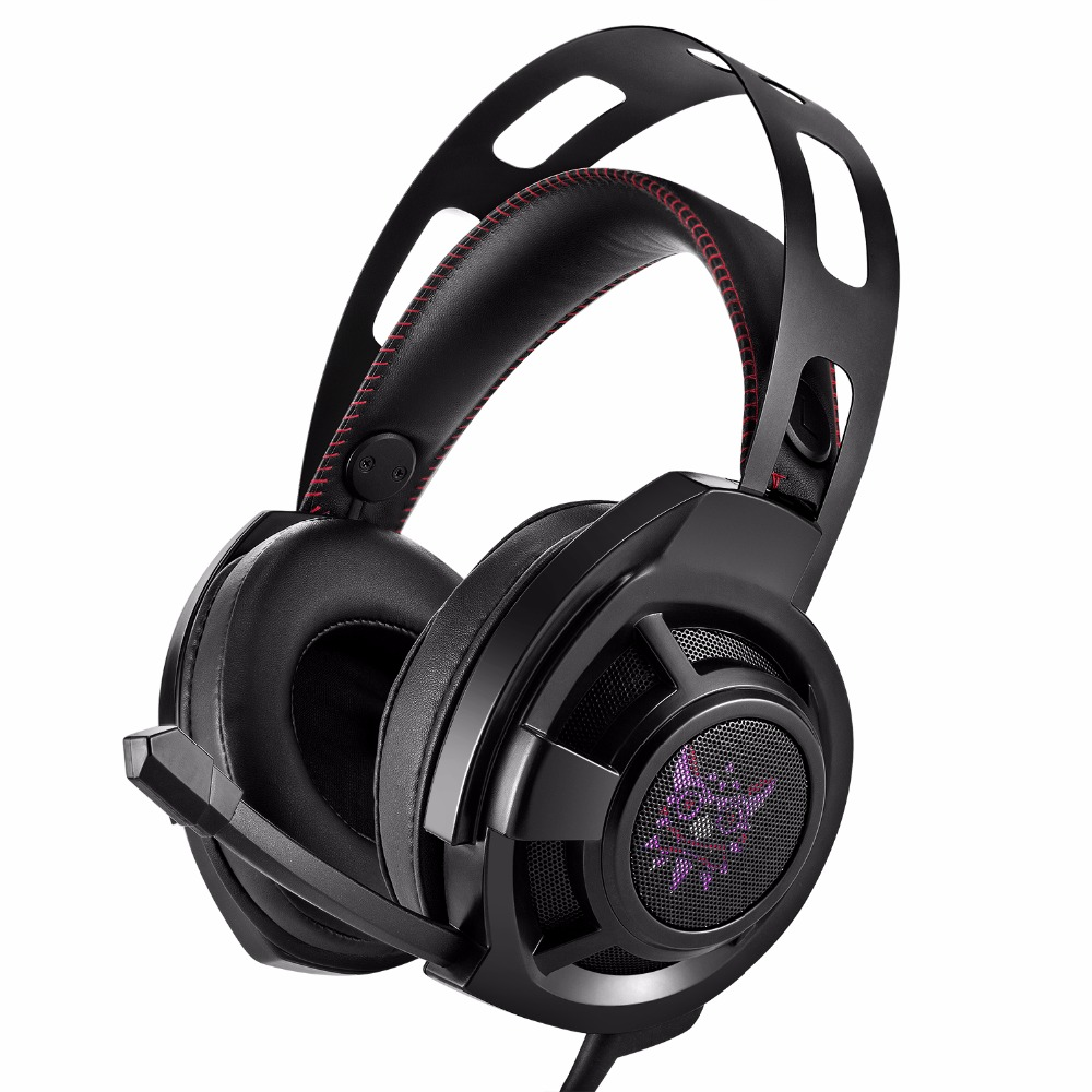 ONIKUMA M190 Black 3.5mm Computer Over-ear Headset With Mic Good Quality Sound Gaming He ...