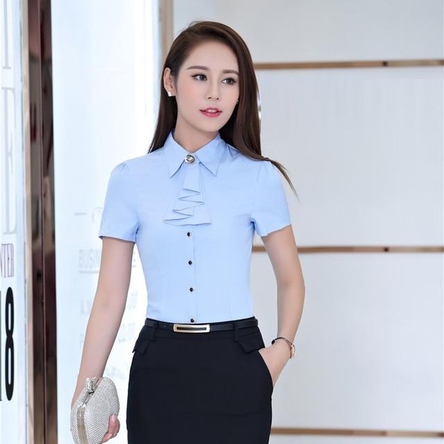 Short Sleeve Blouses For Work