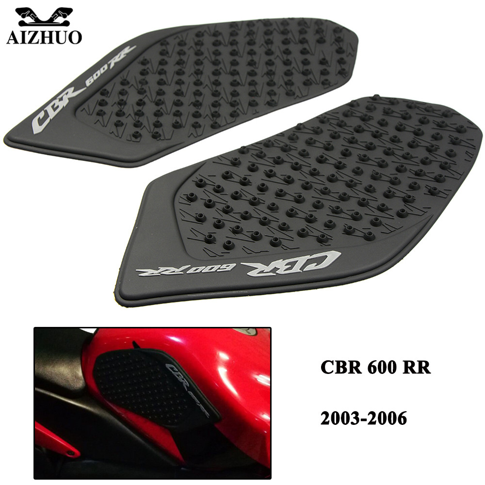 For Honda CBR600RR 2003 2004 2005 2006 CBR 600RR Motorcycle Tank Protector Stickers Antislip Side Gas Knee Grip Traction Pads
