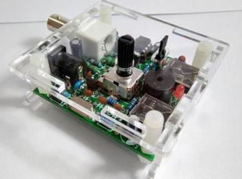 Zmontowany S-PIXIE CW QRP super krótkofalówka nadajnik-odbiornik radiowy radio 7.023khz