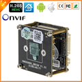 BESDER H.265/H.264 4MP IP Camera Board Module HI3516D + 1/3'' OV4689 CMOS DWDR ONVIF CCTV Module Extra Accessories Optional