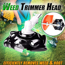 TTLIFE 9.5 Inches Carbon Steel Weed Trimmer Head Mower Sharpener Tool Power Lawn Dragon Claw Weeding Tray