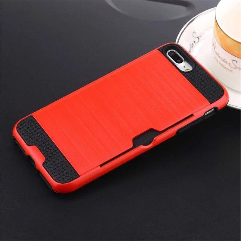 Funda de defensa combinada híbrida Karribeca para iphone 7 cubierta - Accesorios y repuestos para celulares - foto 2