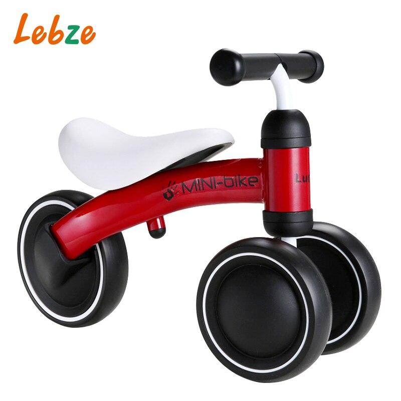 Les enfants montent sur des jouets équilibre vélo trois roues Tricycle pour enfant vélo bébé marcheur pour 1 à 3 ans enfant meilleur cadeau