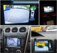 8 видео парковка Сенсор автомобиля автомобиль Обратный резервного копирования Радар Системы с спереди и сзади Камера парковка Системы сигн