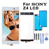 Original White Black For Sony Xperia Z3 Z3 Plus Z4 E6553 E6533 E5663 LCD Display Digitizer