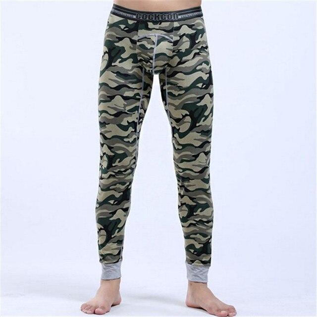Brand new winter autumn pajamas Mens sexy thermal underwear Male cotton pajama pants