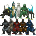 2014 New Arrival Set Of 10 New Godzilla Figures Anguirus,Godzilla Jr,10 Monster Dinosaur Toy Model,Free Shipping.