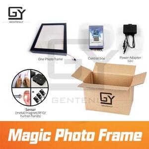 Image 5 - Sihirli fotoğraf çerçevesi kaçış odası oyun prop tetik sensörleri almak için görünmez clues güncelleme sürümü sihirli etiket pervane