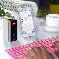 НОВЫЙ Профессиональный Multi-Media Лазерная Проекция Клавиатура Беспроводная Связь Bluetooth с Мини Bluetooth Стерео Колонки Для смартфона