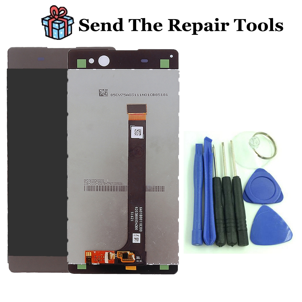 6.0 For Sony Xperia XA Ultra C6 LCD Display with Touch Screen Digitizer Assembly Replacement , Free shipping dhl 10 pcs free shipping lcd display touch screen digitizer with frame replacement for sony for xperia t2 ultra dual d5303 d5306