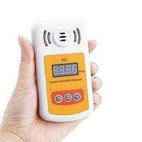 601 цифровой детектор угарного газа CO метр анализатор тестер с звуковой и световой сигнализации
