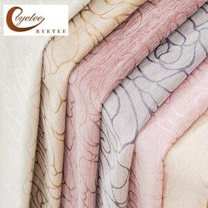 Image 1 - Pencere perde jakarlı kumaşları şönil karartma mutfak lüks perdeler kapılar yatak odası için oturma odası perdeler