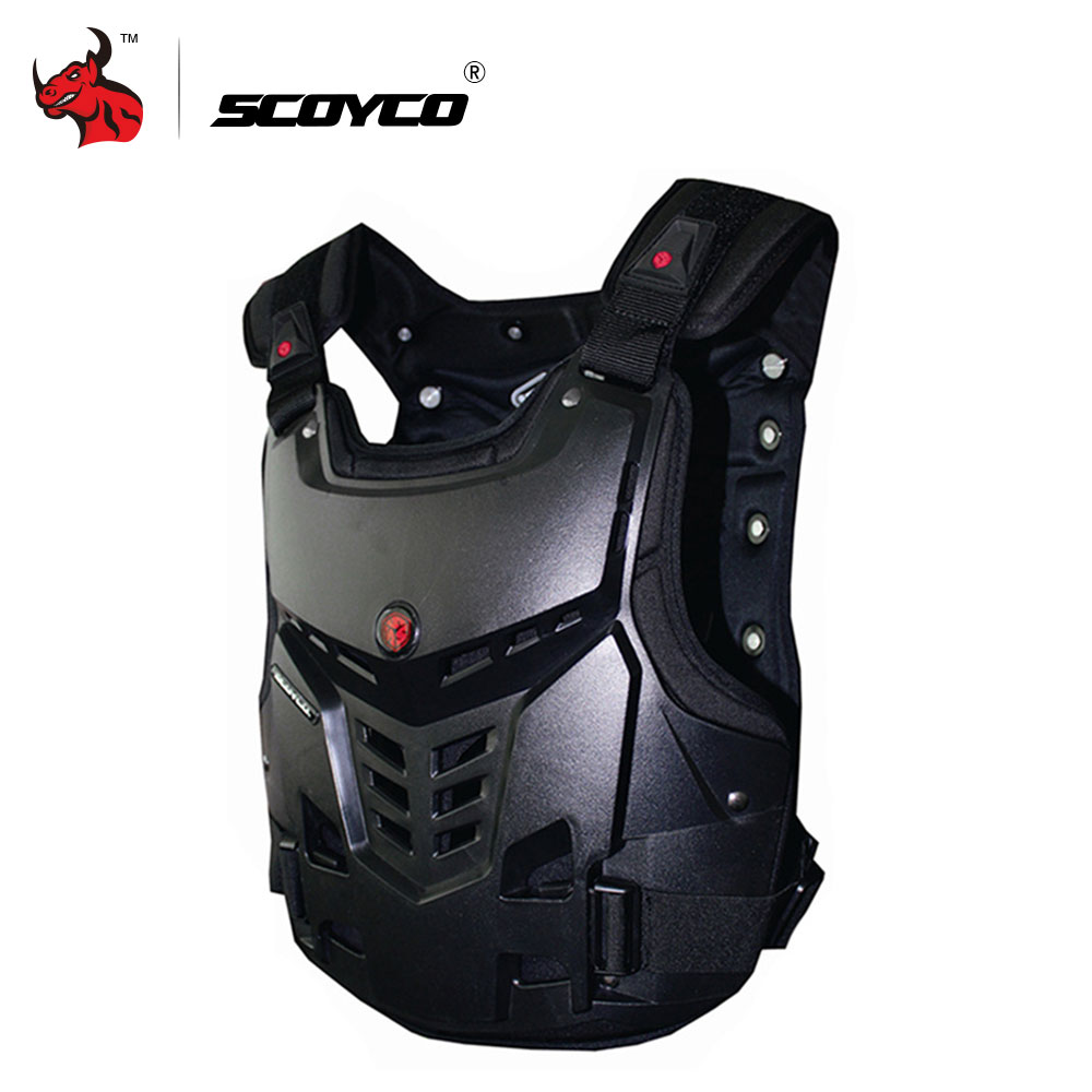 SCOYCO Motorcycles Motocross Chest &Back Protector Armor Vest Racing Protective Body-Guard Armor Motocross Off-Road Racing Vest scoyco motorcycle motocross chest back protector armour vest racing protective body guard mx jacket armor atv guards race moto