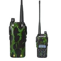 Baofeng uv-迷彩双方向ラジオ、vhf/uhfトランシーバ姉妹アランミッドランドuv-5rプラス