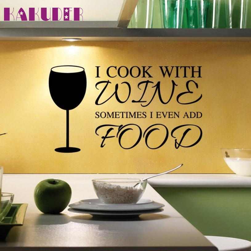 1 Set Easy Stickers Vinyl Wall Stickers Kitchen Cabinet ...
