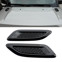 2Pcs ABS plastic Air Vent Outlet Cover Trim For Discovery 4 Range Rover Evoque Car-styling