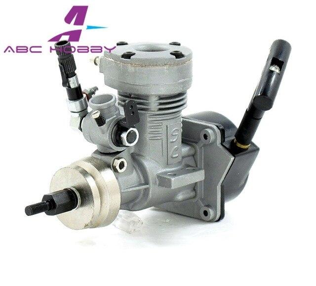 12MX ASP 2CC 2 Stroke Glow Engine With Muffler For Nitro RC Boats 72P