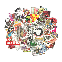 200Pcs Pvc Waterproof  decals Cartoon Sticker For Luggage Skateboard Phone Laptop Moto Bicycle Wall Guitar Stickers homegaga 60pcs steven universe pvc waterproof cartoon for scrapbooking album luggage skateboard phone wall guitar stickers d1290