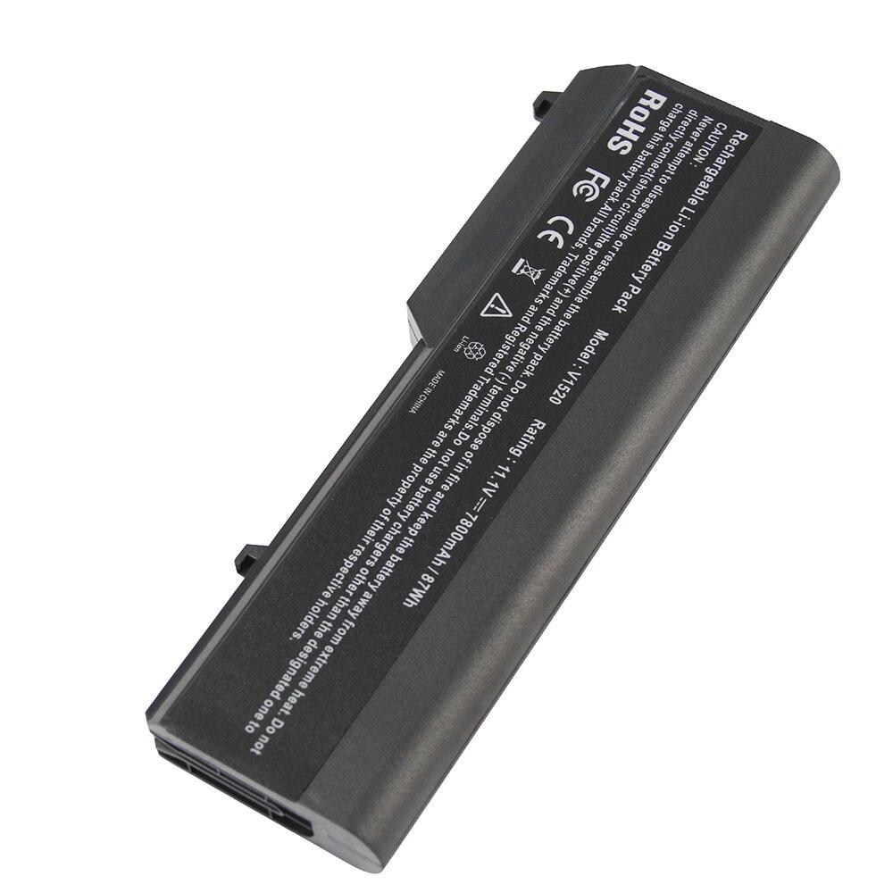 7800mAh for Dell laptop battery 1310 Vostro 1320 1510 1520 2510 K738H N950C N956C N958C T112C T114C T116C U661H Y022C Y