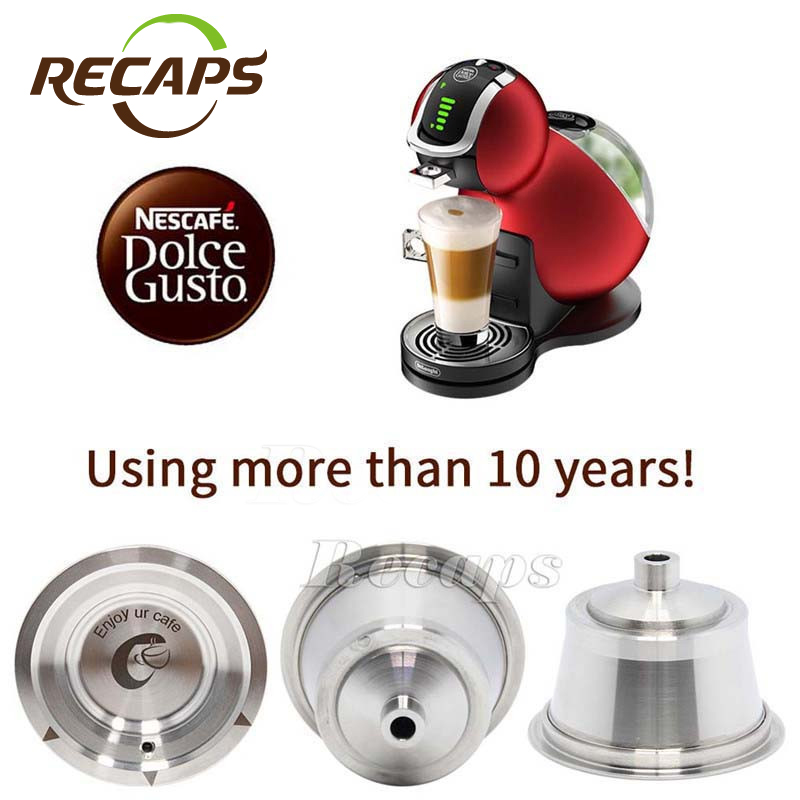 Buy dolce gusto coffee capsule stainless steel refillable co - Suport capsule dolce gusto ...