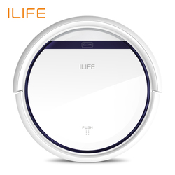 ILIFE V3s Pro  Robot Vacuum Cleaner, Home Household 600Pa Suction Sweep Machine for Pet hair, Anti Collision Self Charging