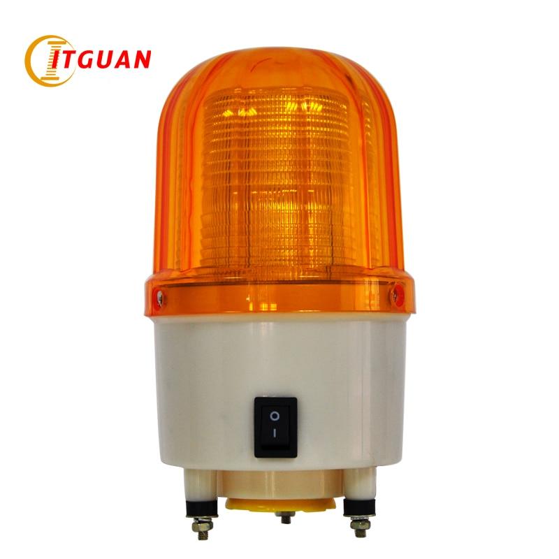 TGSG-150 DC12/24V AC220/380V LED Flashing Warning Lamp with Buzzer Audible & Visual Alarm Indicator Emergency Light Tower Signal