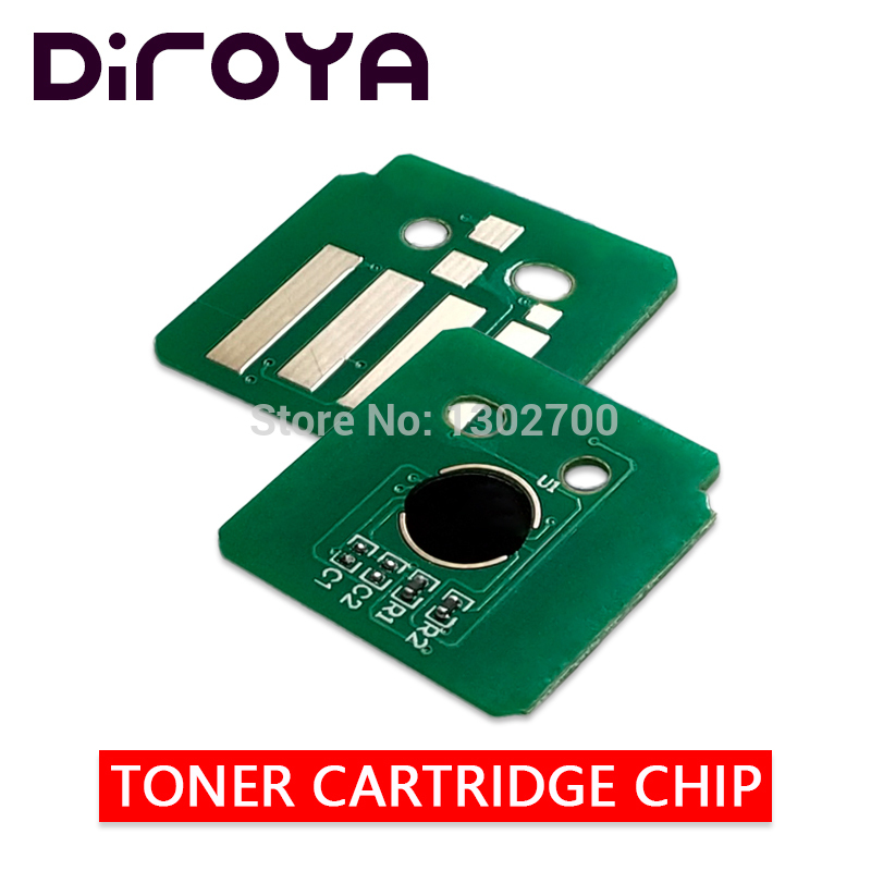 1 x Yellow Toner Chip For Fuji Xero DocuCentre SC2020 SC2020NW CT202249