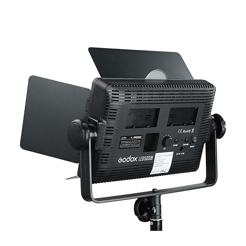 Godox LED500C 3300K~5600K Changeable Version LED Video Light (25)