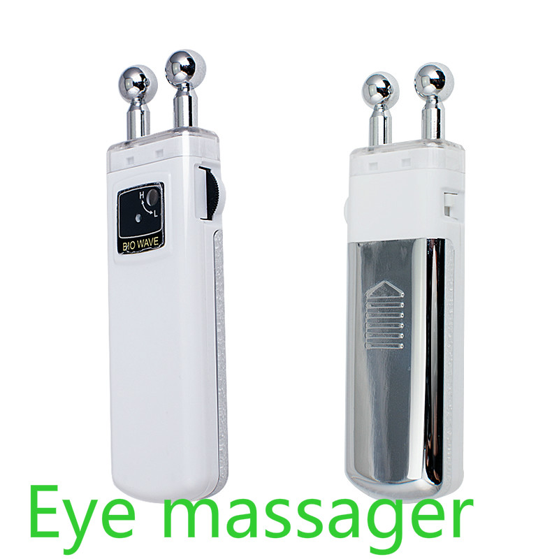 2017 Free Shipping Portable BIO Microcurrent Eye Massager Wrinkle Removal Skin Lift Beauty Machine Portable Eye Massager