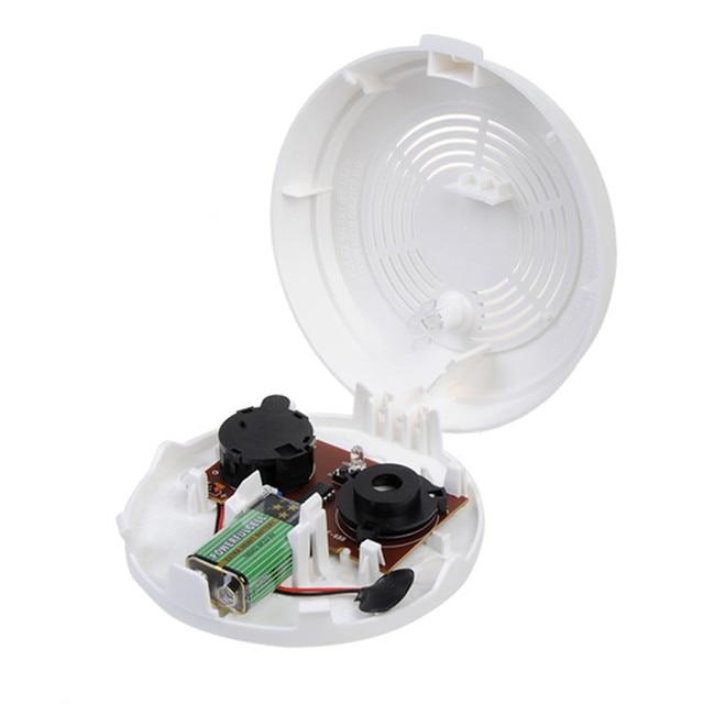 85dB Independent Photoelectric Optical Smoke Gas Sensor Detector Induction Alarm Safely Security High Sensitivity