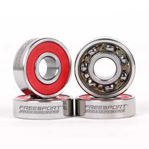 Image 1 - FreeSport 608Rs Pre lubricated Full Steel Skate Bearings Slience For inline Skates Skateboard Scooter Wave board caster board