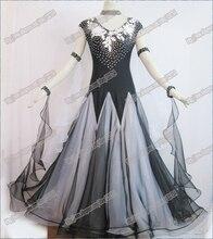 Modern Waltz Tango Ballroom Dance Dress, Smooth Ballroom Dress,Standard Ballroom Dress Girls B-0028