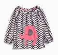 Children autumn baby girls' cotton long sleeved T-shirt shirt sweater coat temperament Princess Baby Doll