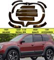 Wheel arch extensions wing and Moldings doors for Renault Duster 2010-2014 Styling Car Tuning Fenders Accessories car styling