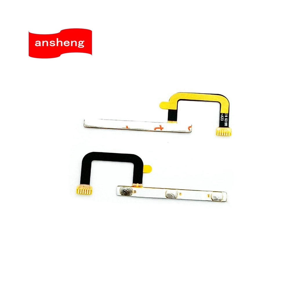 Power On/Off Key+Volume Up/Down Side Button Flex Cable FPC for Doogee T6 for Homtom HT6 5.5 Inch Cell Phone(China)