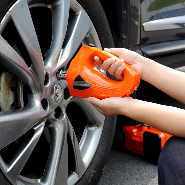 Free Shipping Auto Tyre Change Tool Electric Impact Torque Wrench With 480n M