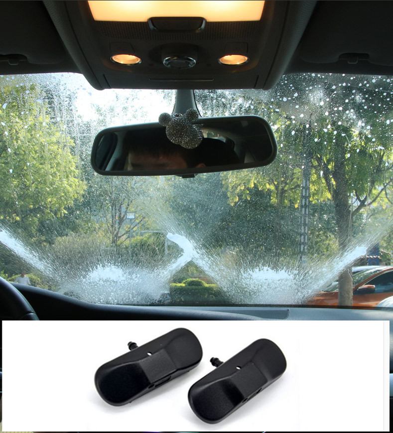 Для Audi A1 A3 A4 A5 A6 A7 спрей Стекло, разбрызгивающим воду 1 пара-in Стеклоочистители from Автомобили и мотоциклы
