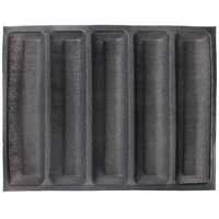 460x335x27mm Silikon Form 5 einkerbungen Resuable Silform/Brot Mould Silform Faser Glas Backen Form flexipan Food Grade