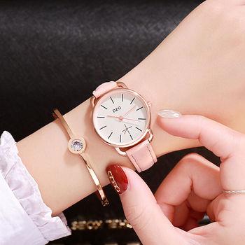 sell well Simple dial design women watches luxury fashion dress quartz watch popular brand pink ladies leather wristwatch rosefield women watches luxury fashion dress quartz watch popular brand ladies leather wristwatch