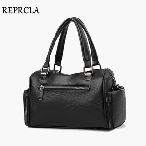 Image 4 - REPRCLA Luxury Women Bag Designer Leather Handbag Fashion Pillow Shoulder Bags Crossbody Female Tote Hand Bags Brand Bolsos