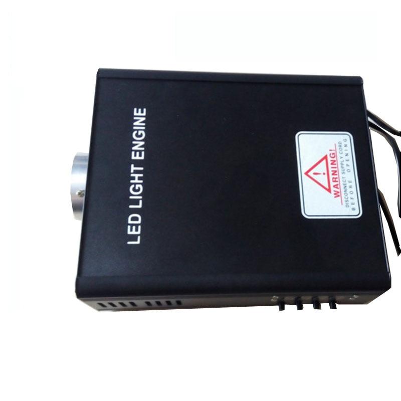 1X DMX512 45 Вт цвета RGB LED оптическое волокно свет двигателя DMX512 сигнала AC85-260V вход для всех видов волоконно-оптических бесплатная доставка