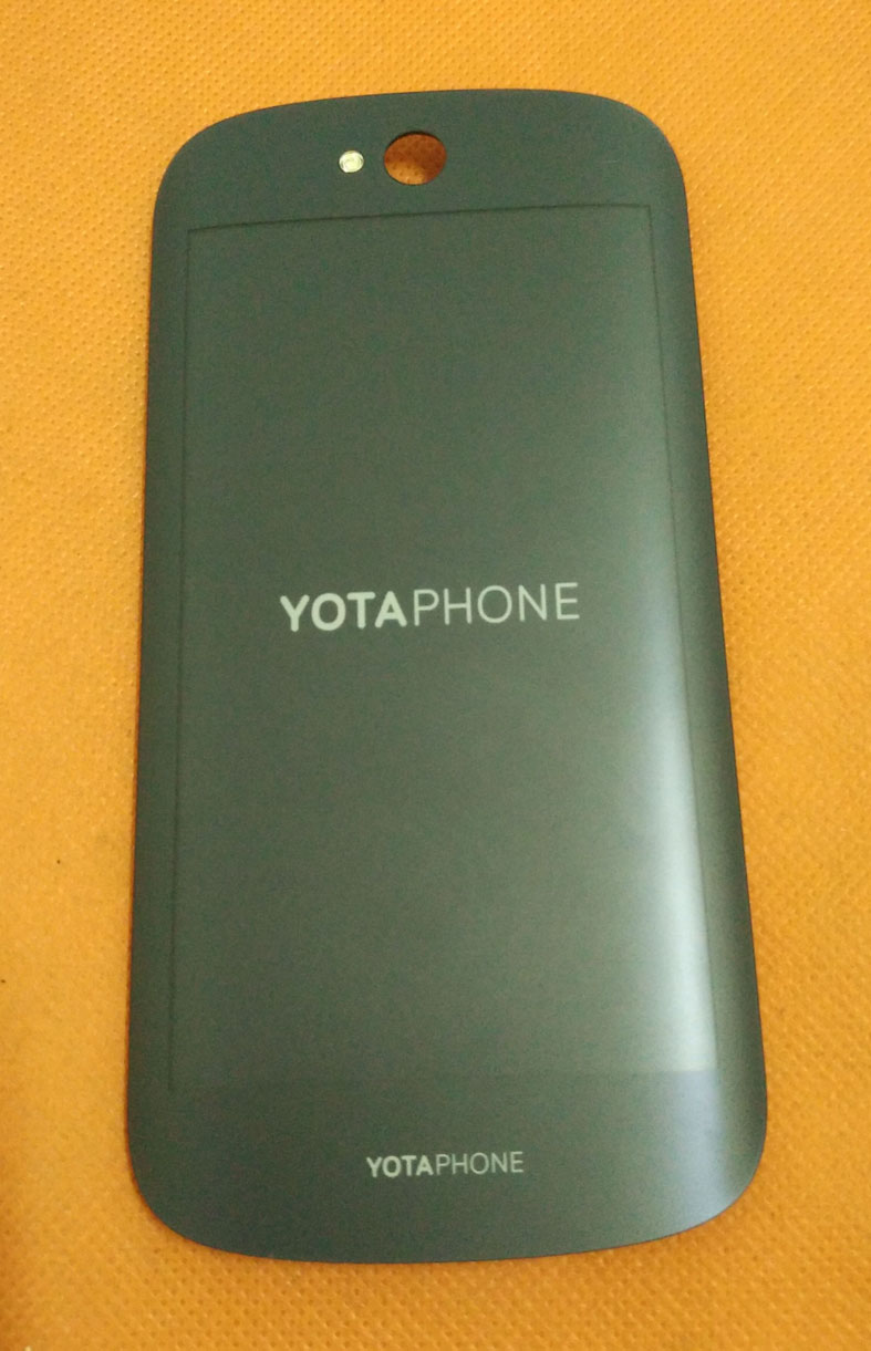 Used Original Back Display +Digitizer Touch Screen For YOTA YotaPhone 2 YD206 Snapdragon 800 FHD Free Shipping
